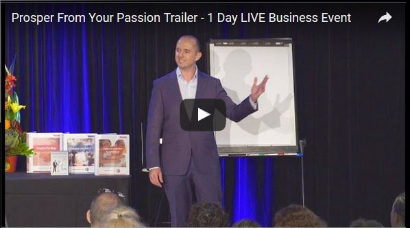 Prosper From Your Passion / Soul Purpose - Free Seminar Gold Coast, Brisbane, Sydney, Melbourne, Perth, Adelaide
